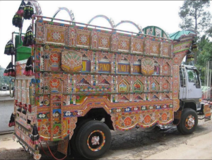 Stile carretto in Pakistan