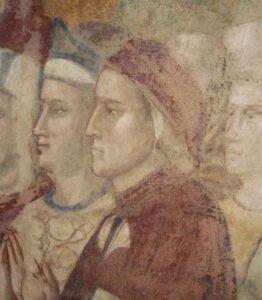 Dante Alighieri con barba Palermo Felicissima