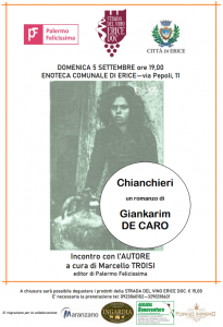 Chianchieri Romanzo Palermo felicissima