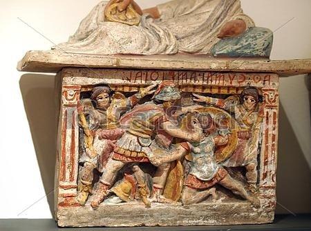 Il carretto siciliano e l'antica Grecia