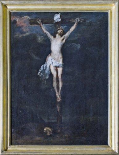 27 PALERMO PalazzoAlliataVillafranca A VanDyck attr Crocifissione DSC04754 web