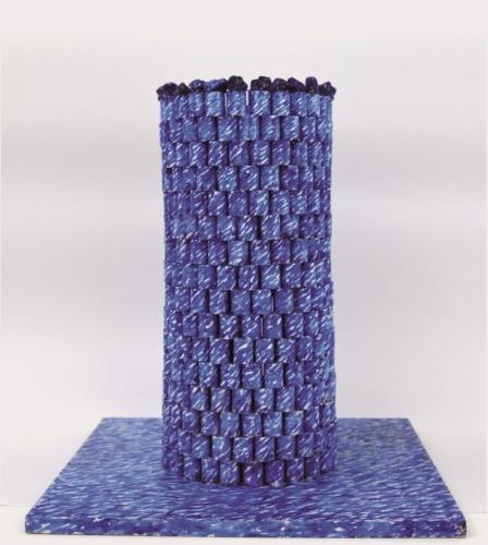 COSIMO BARNA  bozzetto per la scultura Mediterraneo 2005 ceramica MAC Museo Corrao Gibellina