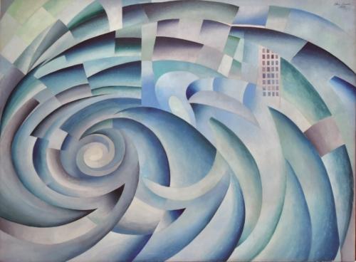 VITTORIO CORONA Raffiche di vento 1925